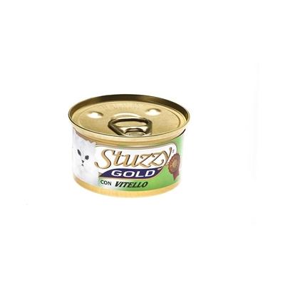 تصویر کنسرو گوشت گوساله Stuzzy مدل Gold