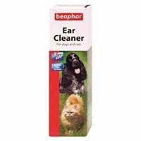 تصویر لوسیون پاک کننده گوش مخصوص سگ وگربه Ear cleaner Beaphar