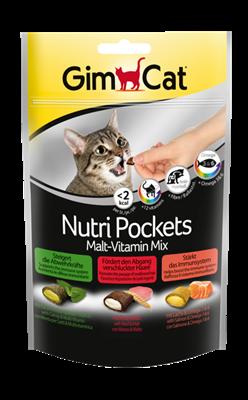 تصویر پاکت تغذیه مخلوط مالت-ویتامین  Gimcat