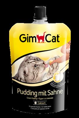 تصویر پودینگ خامه ای شیر بدون لاکتوز Gimcat