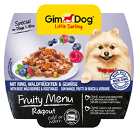 تصویر منوی میوه ای خوراک راگو،گوشت گاو و تمشک وحشی Gimdog