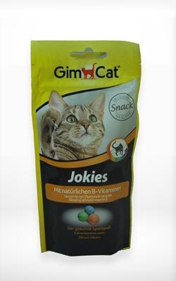 تصویر غذای تشویقی گربه GimCat  مدل Jokeis
