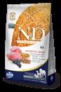 تصویر غذای خشک N&D مخصوص سگ بالغ حاوی گوشت بره و بلوبری 2.5 کیلوگرم MEDIUM