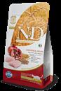 تصویر غذای خشک N&D مخصوص گربه عقیم حاوی مرغ و انار - 1.5 کیلوگرم