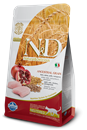 تصویر غذای خشک N&D مخصوص گربه عقیم حاوی مرغ و انار 5 کیلوگرم