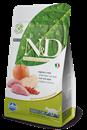 تصویر غذای خشک N&D بدون غلات مخصوص گربه بالغ حاوی گوشت گراز و سیب 5 کیلوگرم