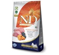 تصویر غذای خشک N&D بدون غلات مخصوص توله سگ نژاد کوچک حاوی گوشت بره، کدو حلوایی و بلوبری - 800 گرم MINI