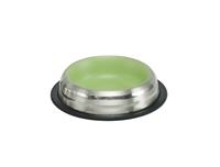 تصویر ظرف غذای استیل سگ و گربه Nobby رنگ سبز مات - 250 میلی لیتر