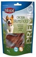 تصویر غذای تشویقی سگ Trixie مدل Chicken Drumsticks با طعم مرغ