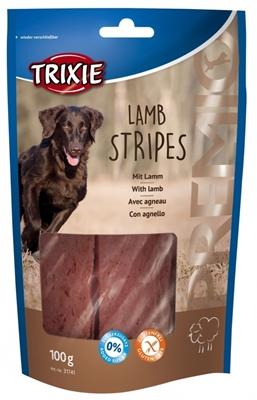 تصویر غذای تشویقی سگ Trixie مدل Lamb Stripes با طعم گوشت بره