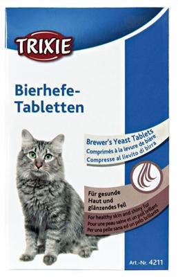 تصویر قرص مخمر آبجو مخصوص گربه Trixie