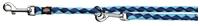 تصویر بند قلاده قابل تنظیم Trixie 2 متری مدل Cavo رنگ آبی و آبی روشن با قطر 12 میلی متری