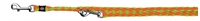 تصویر بند قلاده قابل تنظیم Trixie 2 متری مدل Cavo رنگ فسفری و نارنجی با قطر 12 میلی متری