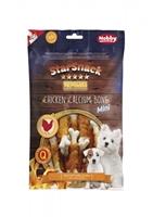 تصویر غذای تشویقی سگ StarSnack مدل CHICKEN CALCIUM BONE mini