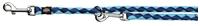 تصویر بند قلاده قابل تنظیم Trixie 2 متری مدل Cavo رنگ آبی و آبی روشن با قطر 18 میلی متری