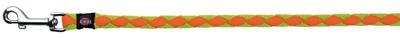 تصویر بند قلاده Trixie 1 متری مدل Cavo رنگ فسفری و نارنجی با قطر 18 میلی متری