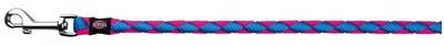 تصویر بند قلاده Trixie 1 متری مدل Cavo رنگ آبی و صورتی با قطر 18 میلی متری