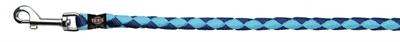 تصویر بند قلاده Trixie 1 متری مدل Cavo رنگ آبی و آبی روشن با قطر 18 میلی متری