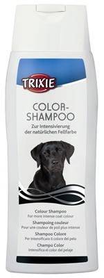 تصویر شامپو مخصوص سگ های تیره و مشکی Trixie مدل Color Shampo