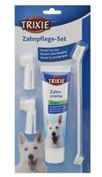 تصویر پک مسواک و خمیر دندان Trixie مخصوص سگ با طعم نعنا