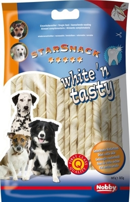 تصویر غذای تشویقی سگ StarSnack مدل white'n tasty