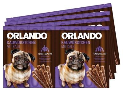 تصویر اسنک تشویقی سگ Orlando با طعم ژامبون گوساله - 88 گرمی