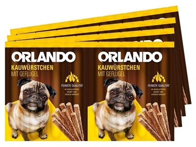 تصویر اسنک تشویقی سگ Orlando با طعم مرغ - 88 گرمی
