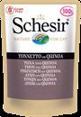 تصویر پوچ گربه Schesir با طعم ماهی Quinoa و ماهی تن - 100گرم