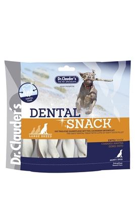 تصویر غذای تشویقی سگ Dr.Clauders مدل DENTAL SNACK برای محافظت و سفیدی دندان ها - 170 گرم