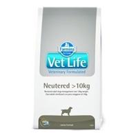 تصویر غذای خشک مخصوص سگ های عقیم شده 1 تا 10 کیلوگرمی VetLife مدل Neutered - 2 کیلوگرم