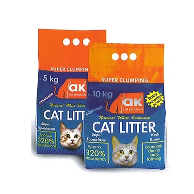 تصویر خاک گربه AK Products - 10 کیلوگرم