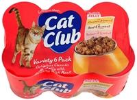 تصویر کنسرو Cat Club مخصوص گربه - بسته 6 عددی