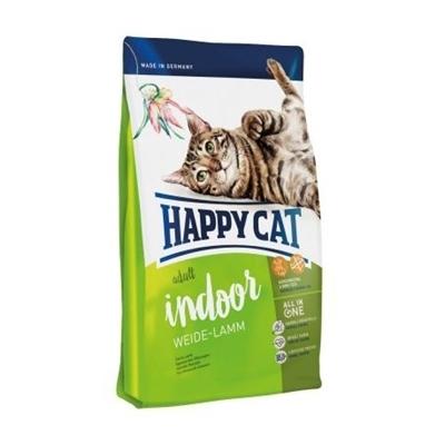 تصویر غذای خشک گربه HappyCat مخصوص گربه خانگی بالغ  - 300 گرم