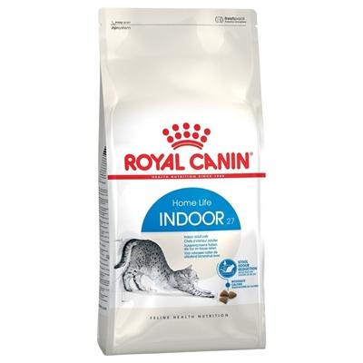 تصویر غذای خشک Royal Canin مدل Home Indoor مخصوص گربه بالغ مو کوتاه - 400 گرم