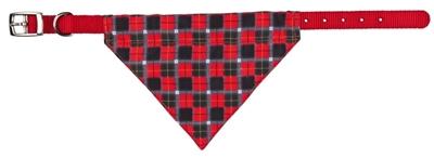 تصویر قلاده پاپیونی Trixie سایز XS (سایز گردن 19 تا 24 سانتی متر) - قرمز
