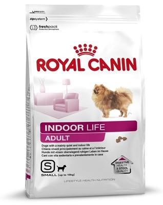 تصویر غذای خشک Royal Canin مخصوص سگ های بالغ نژاد کوچک مدل Indoor Life - 500 گرم