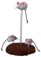 تصویر اسباب بازی مخصوص گربه Trixie مدل Mouse Family - 15 * 20 سانتی متر