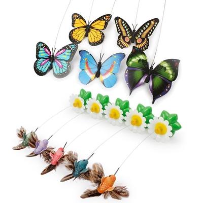 تصویر بازی مخصوص گربه مدل پروانه چرخشی