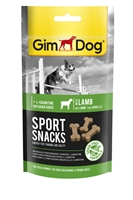 تصویر اسنک تشویقی گوشت بره GimDog مدل SportSnack مناسب برای سگ های بالغ