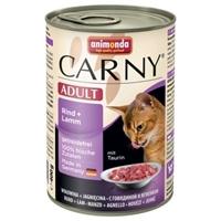 تصویر کنسرو Carny مناسب برای گربه های بالغ با طعم گوشت گوساله و بره - 400 گرم