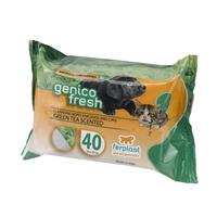 تصویر دستمال مرطوب Ferplast مدل GenicoFresh با رایحه چای سبز - 40 برگ