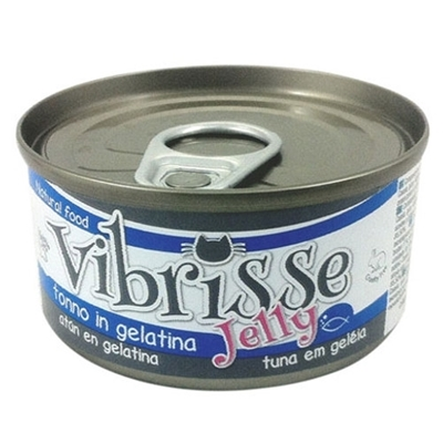 تصویر کنسرو Vibrisse با طعم ماهی و ژله