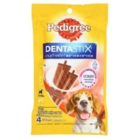 تصویر تشویقی Pedigree مدل Dentastix با طعم گوشت گوساله مناسب برای سگ ها