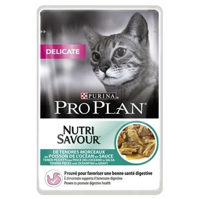تصویر پوچ ProPlan مخصوص گربه بدغذای بالغ - 85 گرم
