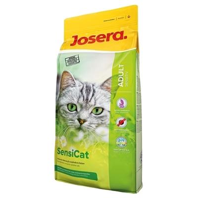 تصویر غذای خشک مخصوص گربه های بالغ Josera مدل SensiCat مناسب برای گربه هایی با دستگاه گوارش حساس - 2 کیلوگرم