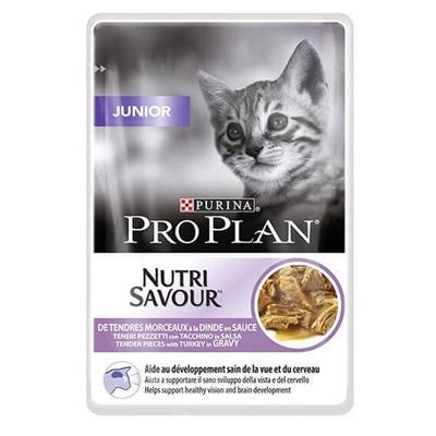 تصویر پوچ ProPlan مخصوص بچه گربه - 85 گرمی