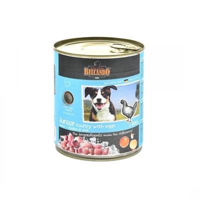 تصویر کنسرو Belcando مخصوص توله سگ های بالغ با طعم گوشت طیور و تخم مرغ - 400 گرم