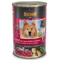 تصویر کنسرو Belcando مخصوص سگ های بالغ با طعم گوشت گوساله، سیب زمینی و لوبیا سبز - 800 گرم