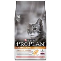 تصویر غذای خشک گربه بالغ Proplan مدل Derma Plus برای جلوگیری از تشکیل گلوله های مویی - 400 گرم
