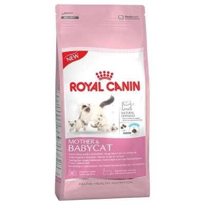تصویر غذای خشک Royal Canin مخصوص نوزاد گربه و مادر شیرده - ۴ کیلوگرم